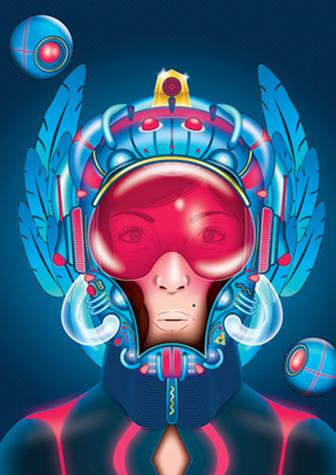 Faux 3D finishes in Illustrator