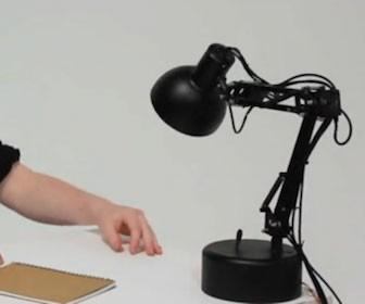Arduino used to bring Pixar-style lamp to life