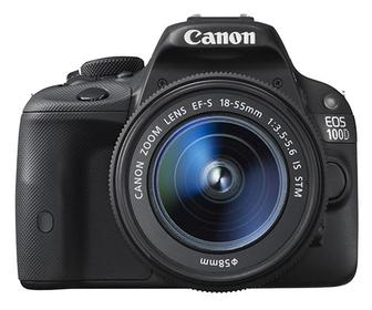 Canon launches 'world's smallest' digital SLR, the EOS 100D
