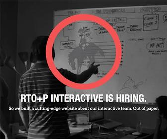 Paper website offers jobs to interactive designers