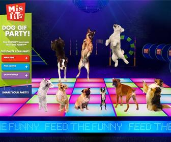 Funny Dog Gif Party Maker takes animal gifs to the next level