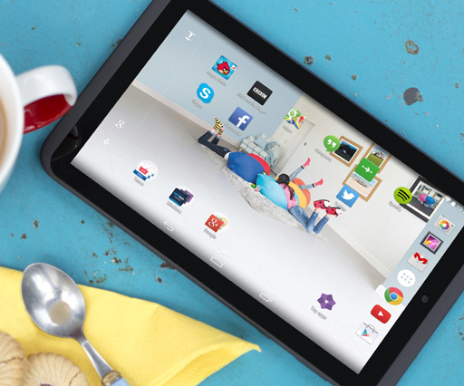 How The Chase, ustwo and ChauhanStudio redesigned and rebranded Tescos's hudl2 tablet