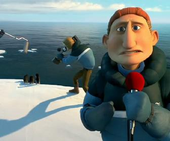 Watch Werner Herzog's cameo in the Penguins of Madagascar film