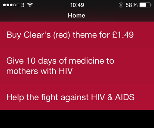 25 iOS apps turn (Red) for World AIDS Day campaign