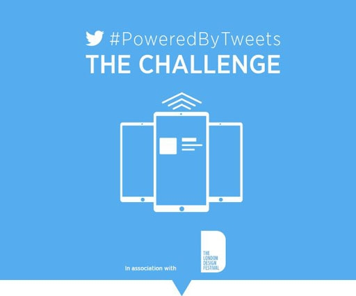 Twitter's design competition challenges you to create with tweet data