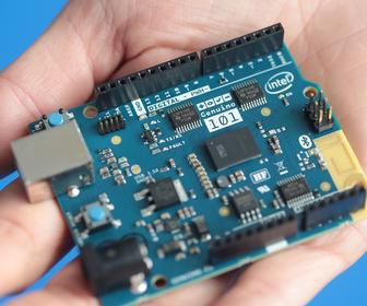 Intel's £25 Genuino 101 Arduino board lets you make wearables and robots on the cheap