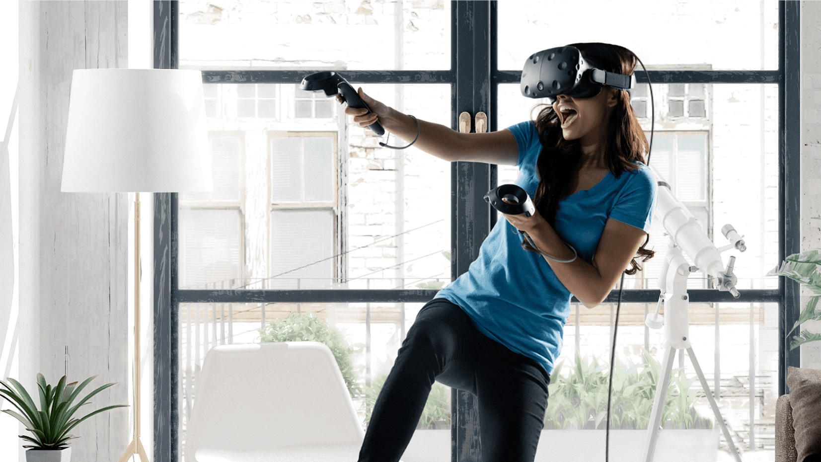 Why HTC's Vive VR headset offers a completely different ...
