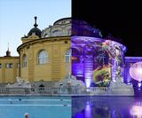 See how club visuals take over a 19th Century bathhouse for Budapest's SPArty nights