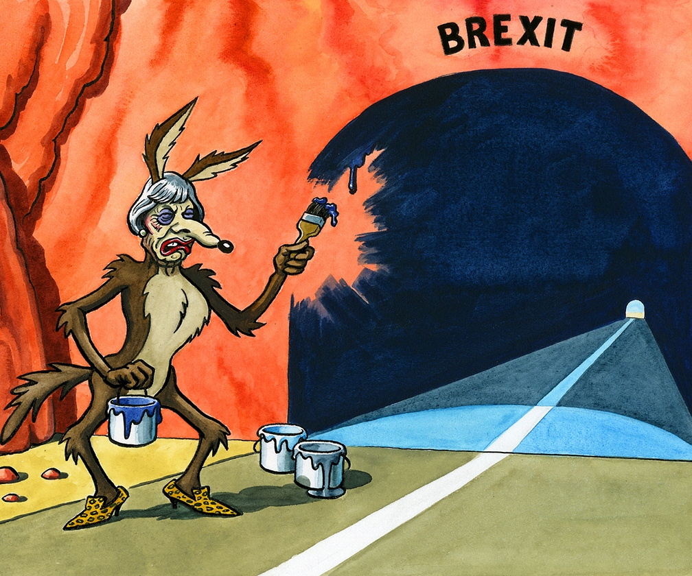 Political cartoons in 2017: Chris Riddell, Rebecca Hendin and Dave Brown on what it's like to create satirical art in a digital world