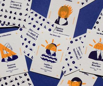 This card game highlighting female design pioneers both educates and entertains