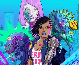 This graphic novel uses AR to blur the lines between cartoon, comic and video game