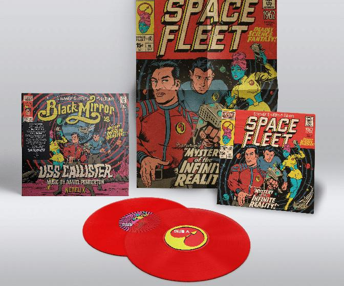 Butcher Billy's Black Mirror artwork for USS Callister is coming to vinyl