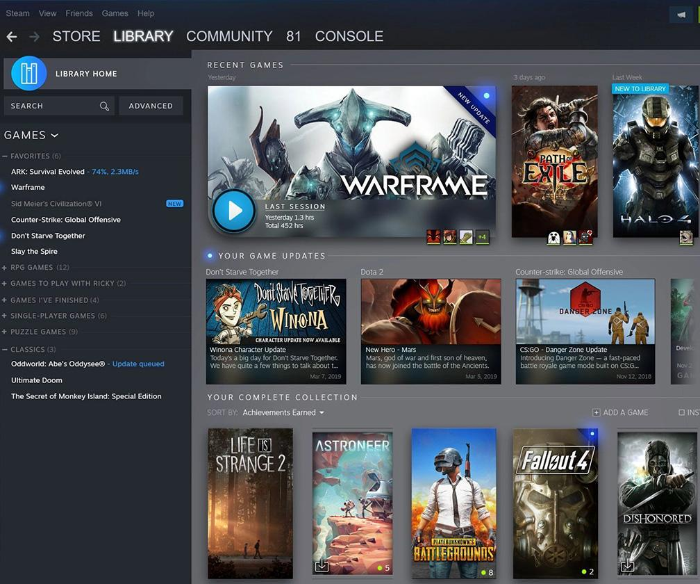 Inside the redesign of the world's largest computer games platform, Steam