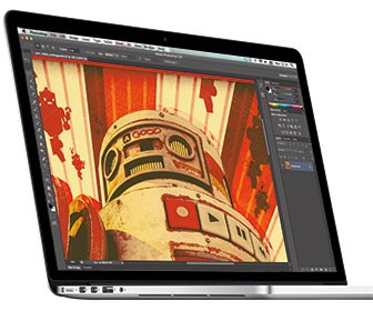 Apple MacBook Pro with Retina Display tested with Photoshop, After Effects and 3D suites review