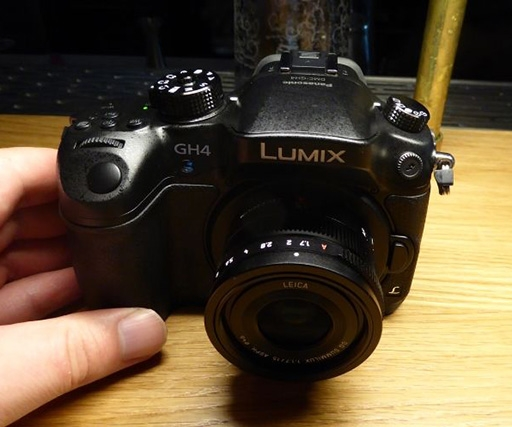 Panasonic Lumix GH4 4K camera hands-on review