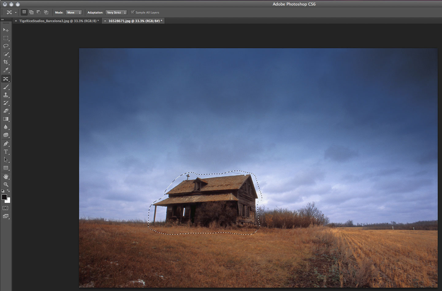 Photoshop tutorial content aware move in photoshop cs6 step by next step baditri Images