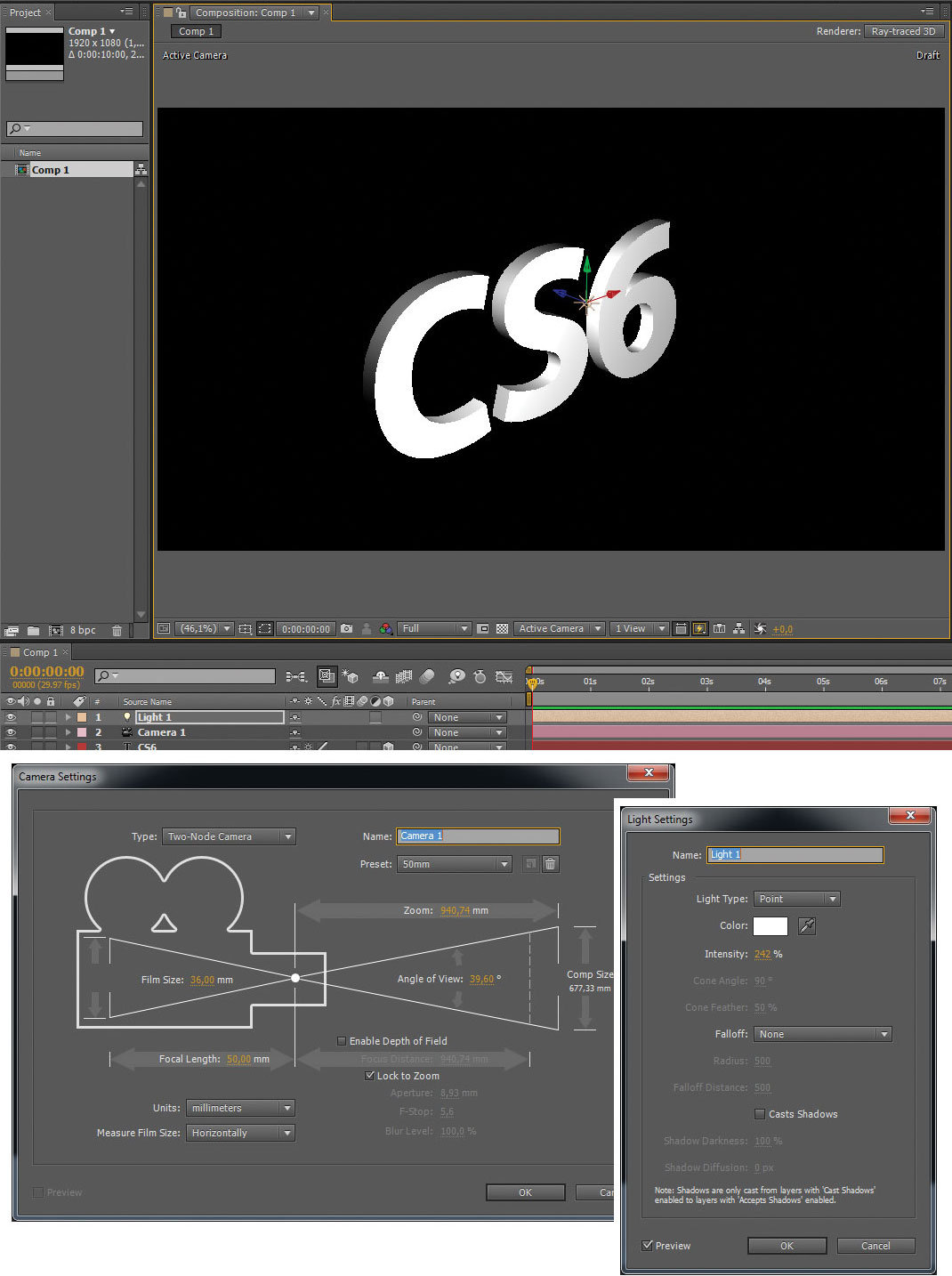 how to cut on after effects cs6