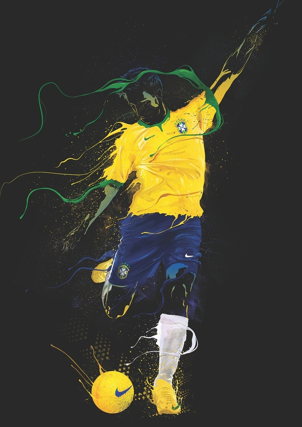 b9ed7146d Football-inspired art takes centre stage at Nike exhibition ...