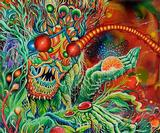Interview: Skinner on creating Mastodon's psychedelic new cover art