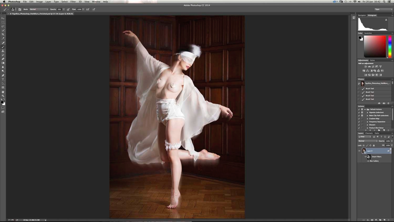 Latest release of Photoshop