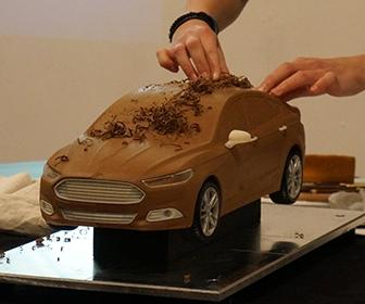 How Ford Sculptors design cars using clay