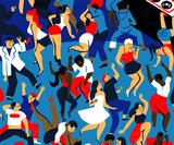 Virginie Morgand's vibrant illustrations celebrate a great night out