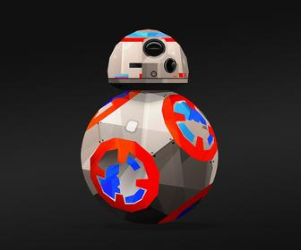 Justin Maller creates low-poly Star Wars characters for official campaign