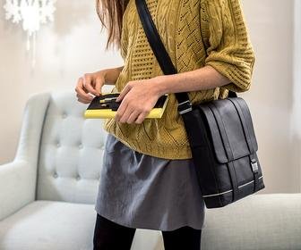 Moleskine's stylish first full line of leather bags are on our 'want' list
