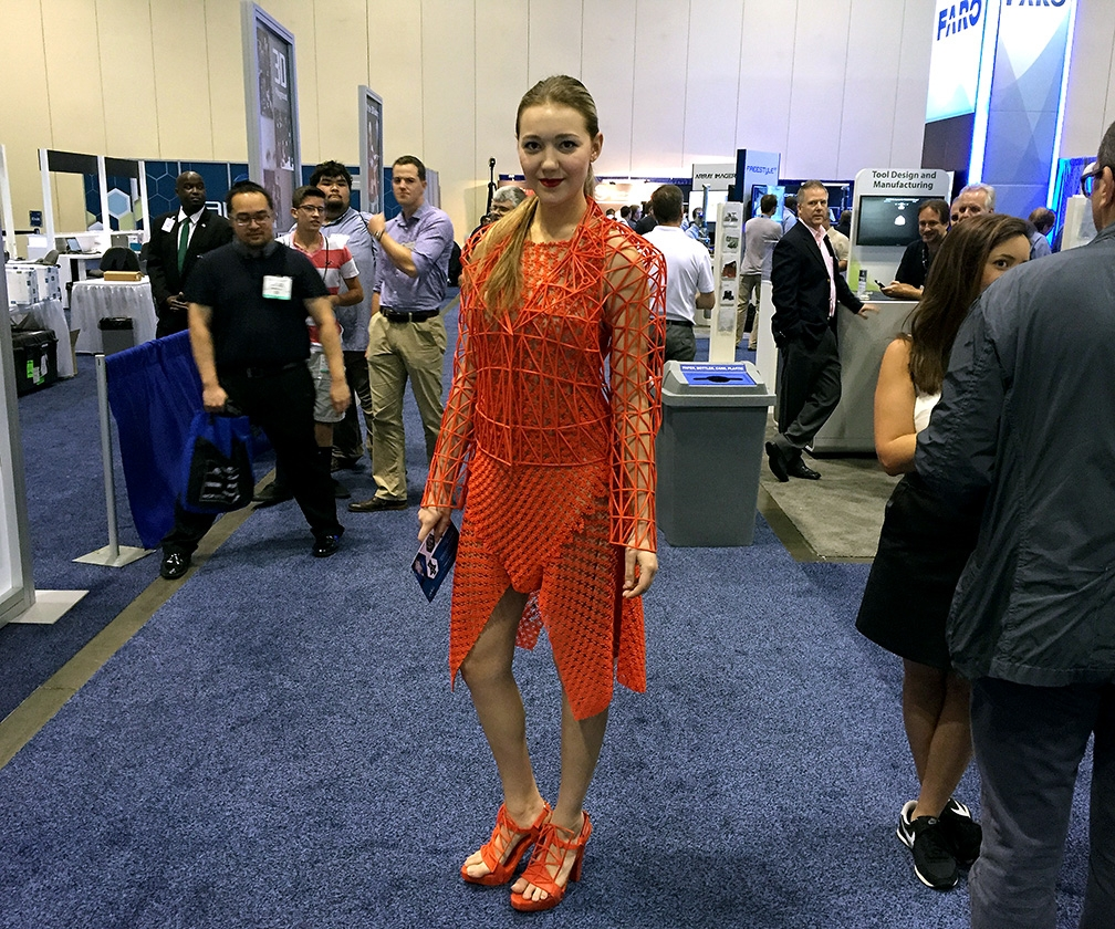 The coolest 3D-printed things we saw at RAPID: from R2D2 to dresses and spacecraft
