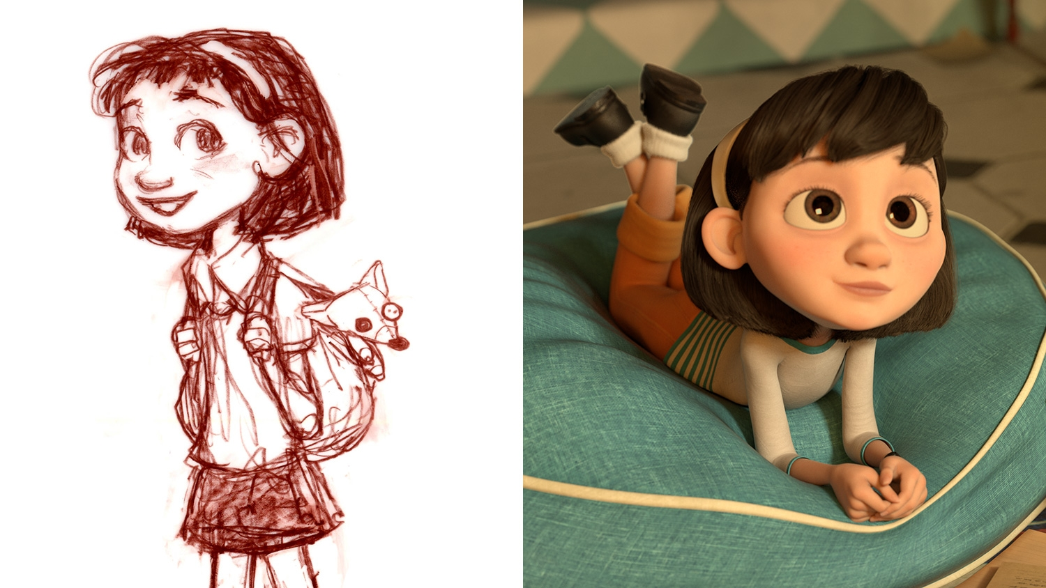 See The Wonderful Original Sketches For The New Animated