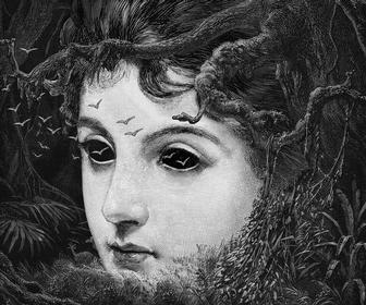 Dan Hillier crafts surreal Victorian collages for Shakespeare's Globe theatre