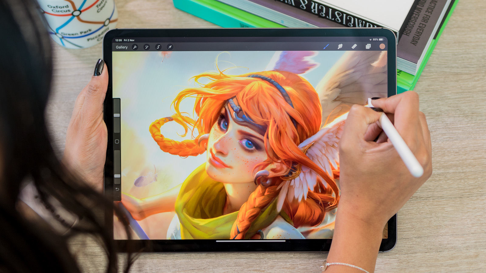 ipad pro tablet apple illustration artists digital table designers wacom 9in arts there much mobilestudio creative which