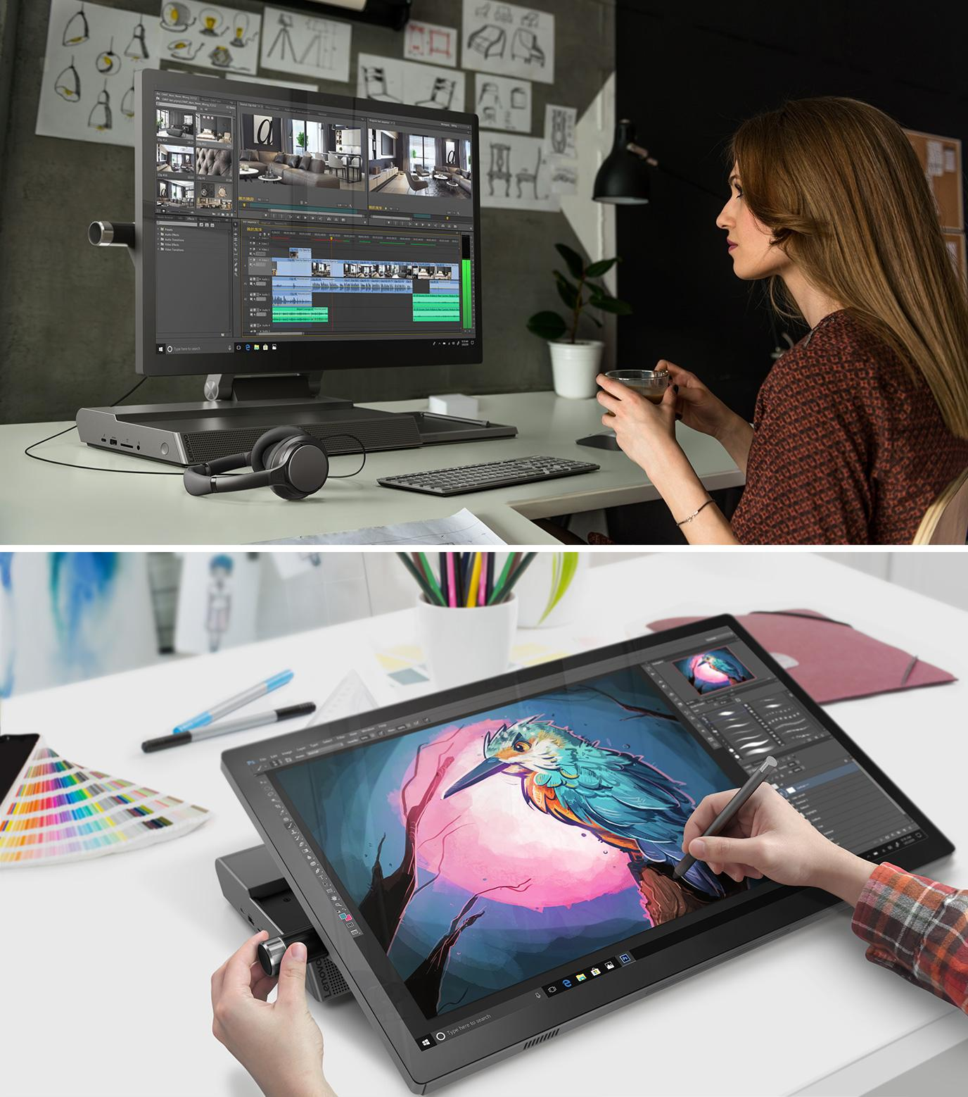 f4d6586980c2a3 Lenovo s new PC for artists and designers is the oddest-looking ...
