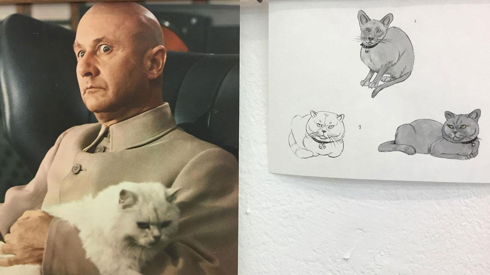Explore unseen concept art from Isle of Dogs with Wes Anderson character designer Félicie Haymoz